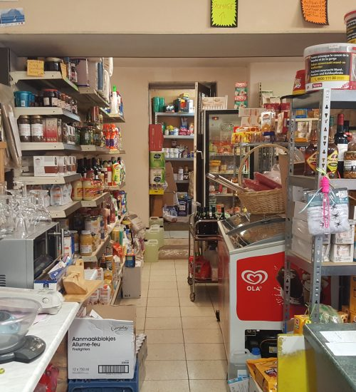 Rayon alimentation du magasin